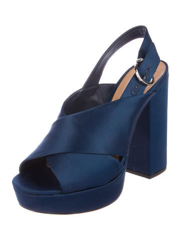Schutz Millie Satin Sandals w/ Tags cheap 100% guaranteed cheap sale with paypal with credit card online clearance store SMgMaSIbq