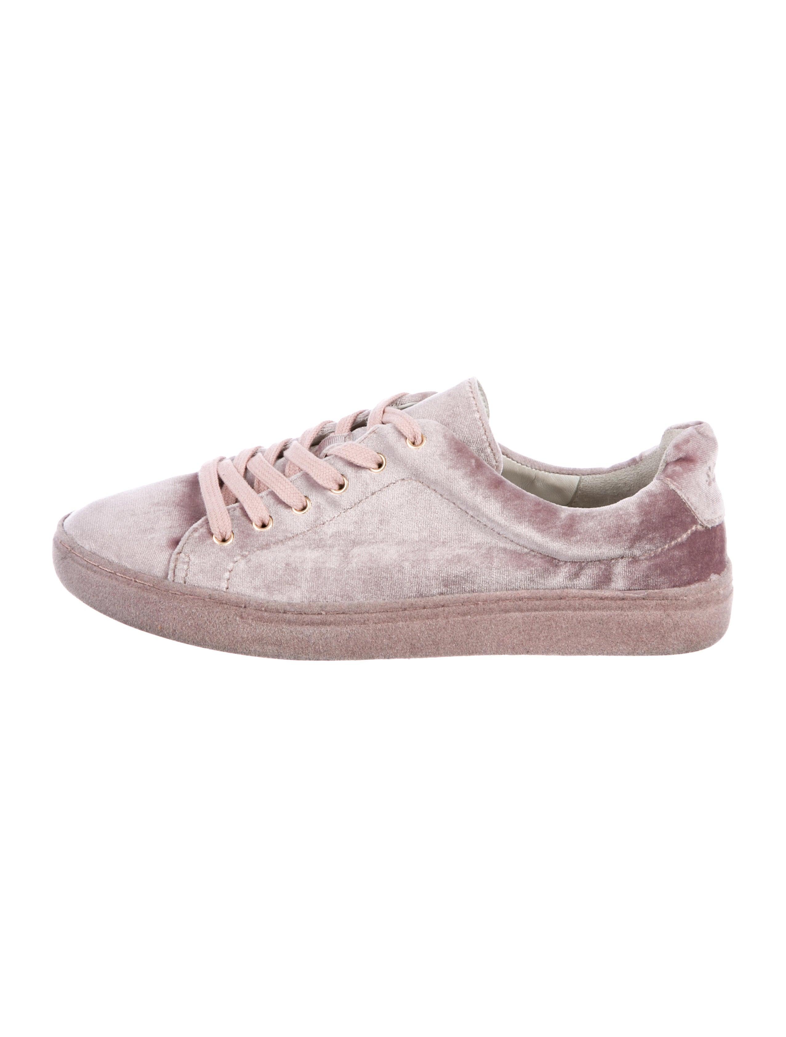 cheap best place Schutz Velvet Low-Top Sneakers purchase wholesale price cheap sale cost Q73NL7
