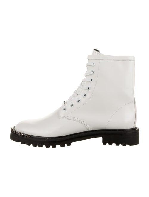 Schutz Turmalina Leather Boots White