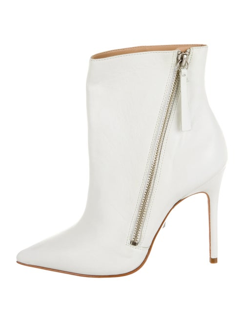 Schutz Leather Boots White