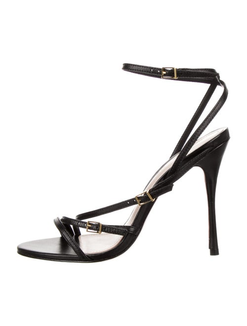 Schutz Vintage Sandals Black