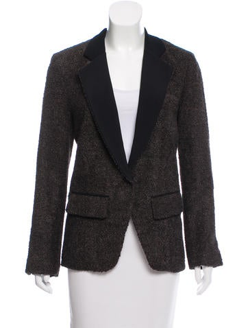 Priory of Ten Structured Bouclé Blazer w/ Tags None