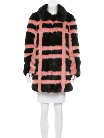 Shrimps Edith Faux Fur Coat w/ Tags