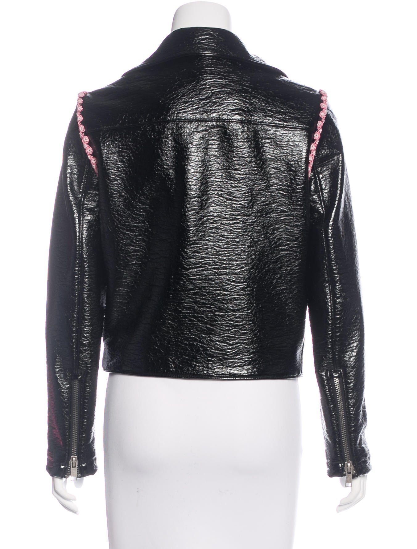 Shrimps Vinyl Biker Jacket Clothing W7220119 The