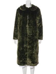 dab65e7d3c5f Shrimps. Faux Fur Long Coat ...