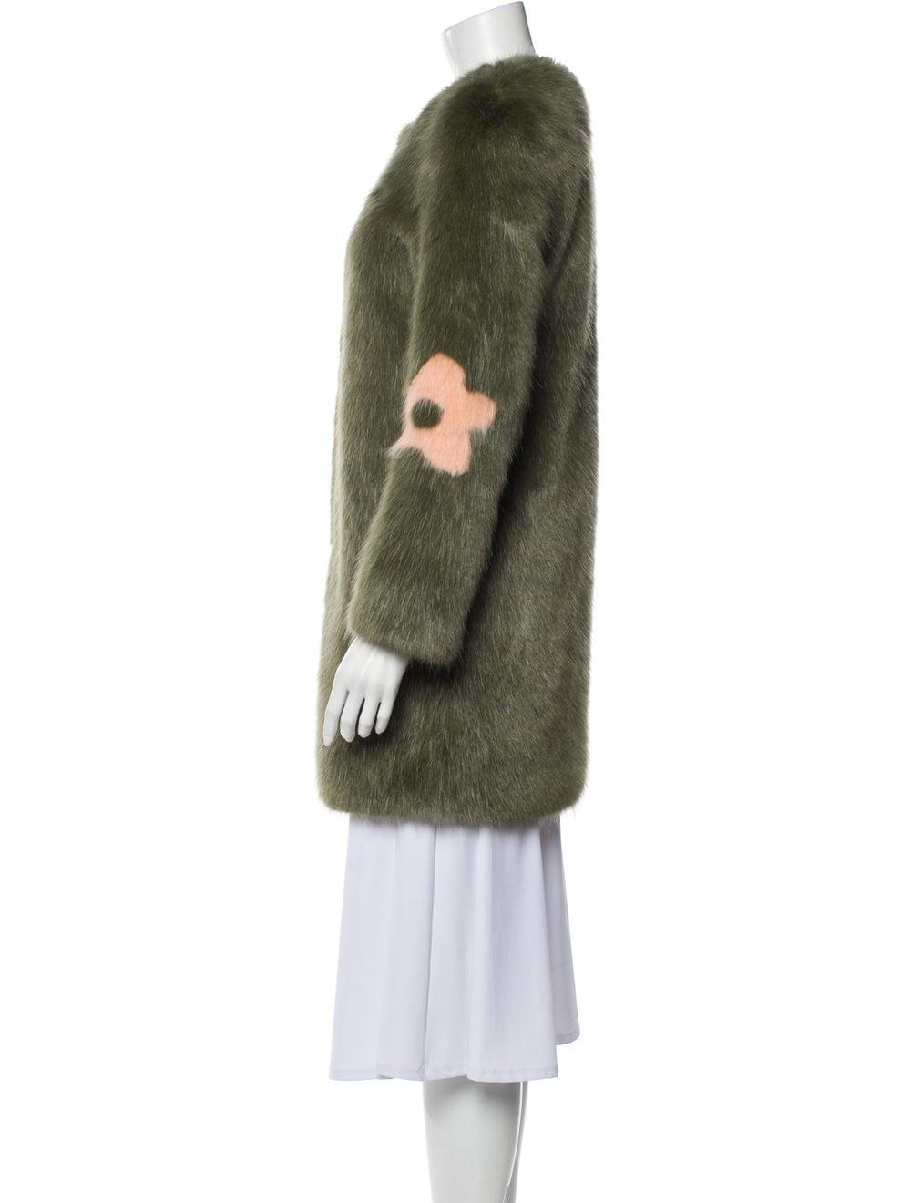 Shrimps Faux Fur Coat Green - image 2
