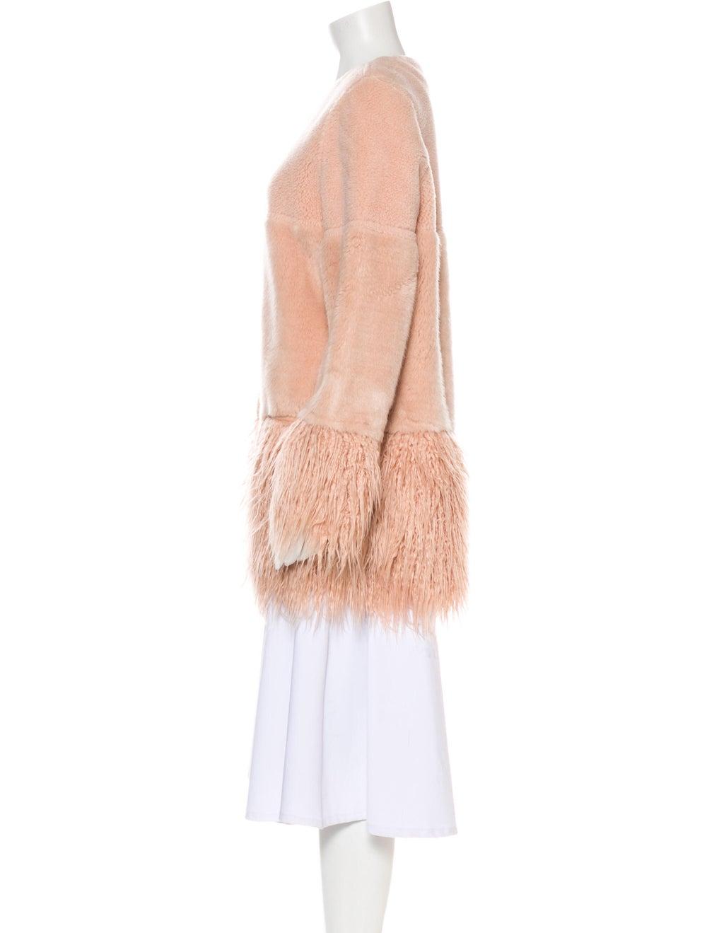 Shrimps Faux Fur Coat Pink - image 2