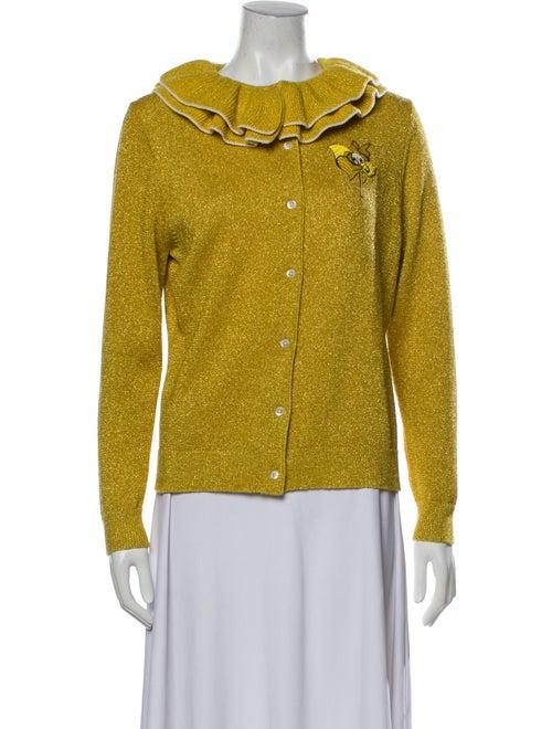 Shrimps Crew Neck Sweater Yellow - image 1