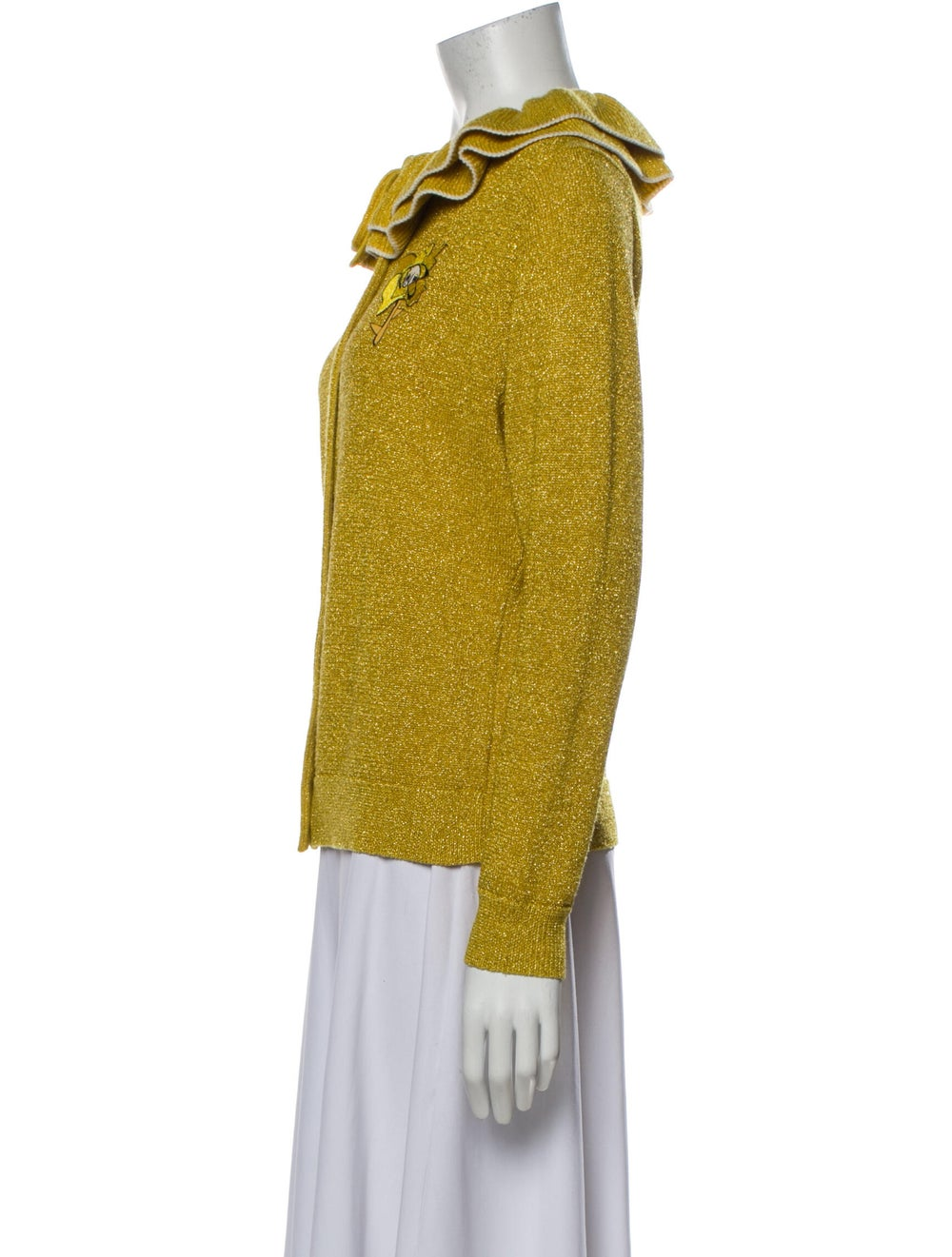Shrimps Crew Neck Sweater Yellow - image 2