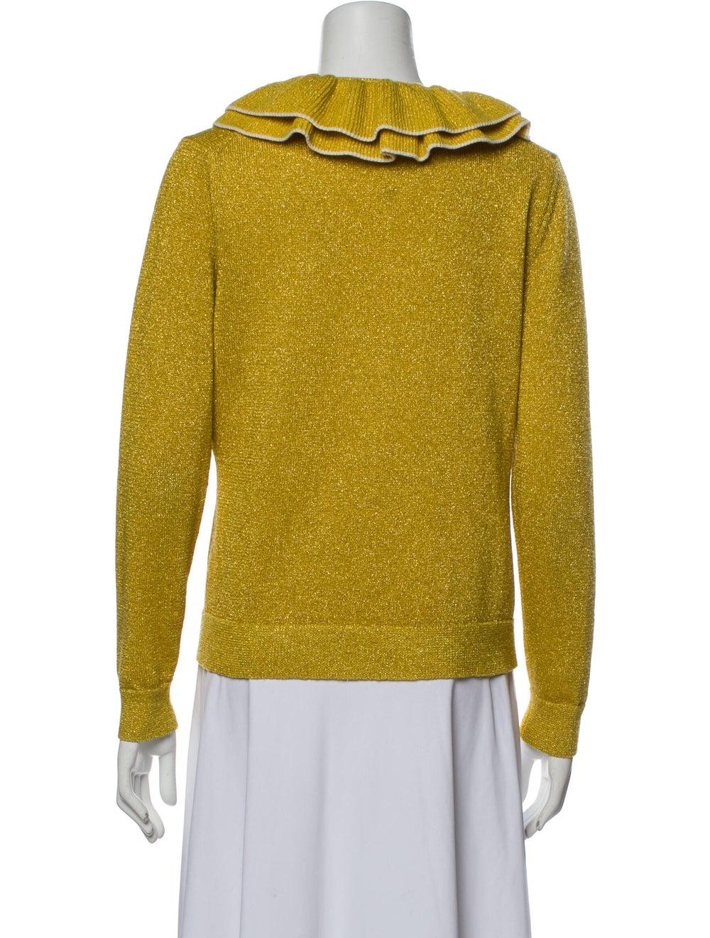 Shrimps Crew Neck Sweater Yellow - image 3