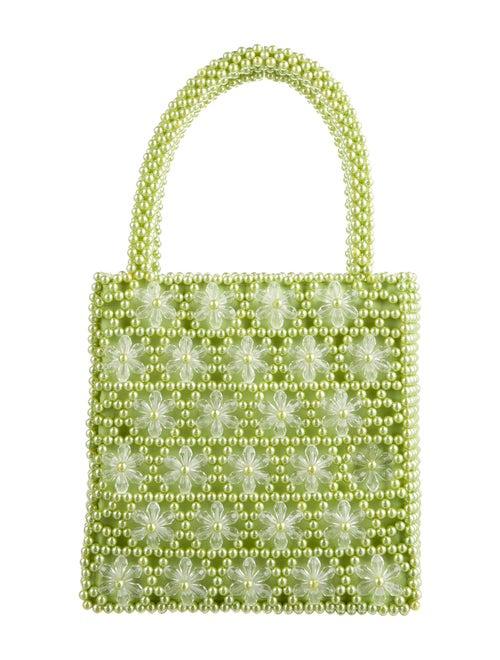 Shrimps Plastic Handle Bag Green
