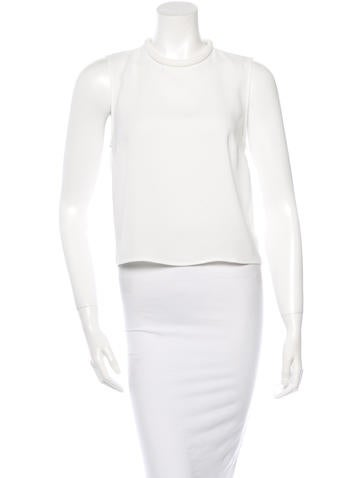 Nicholas Crepe Twist Back Top w/ Tags None