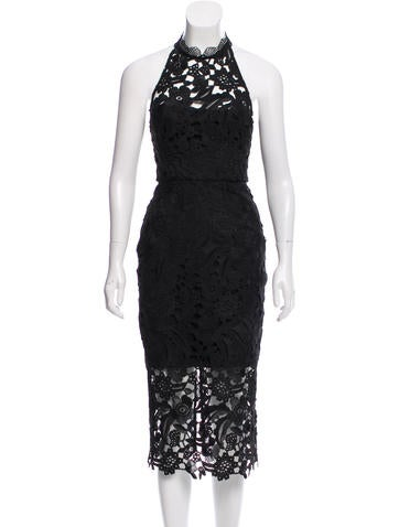 Azalia Cutaway Midi Dress w/ Tags