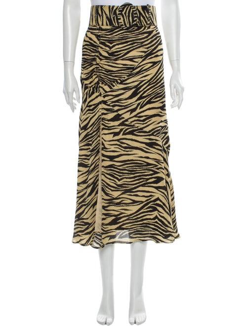 Nicholas Silk Midi Length Skirt