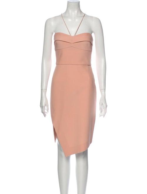 Nicholas Silk Mini Dress Pink