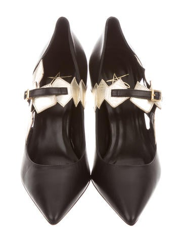 Day Star Pointed-Toe Pumps