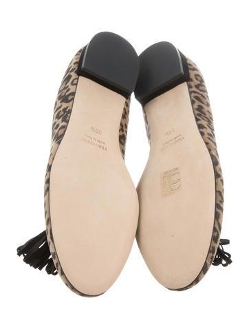 Vivian Leopard Loafers