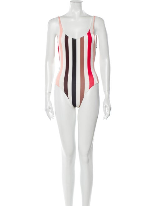 Solid & Striped Striped One-Piece