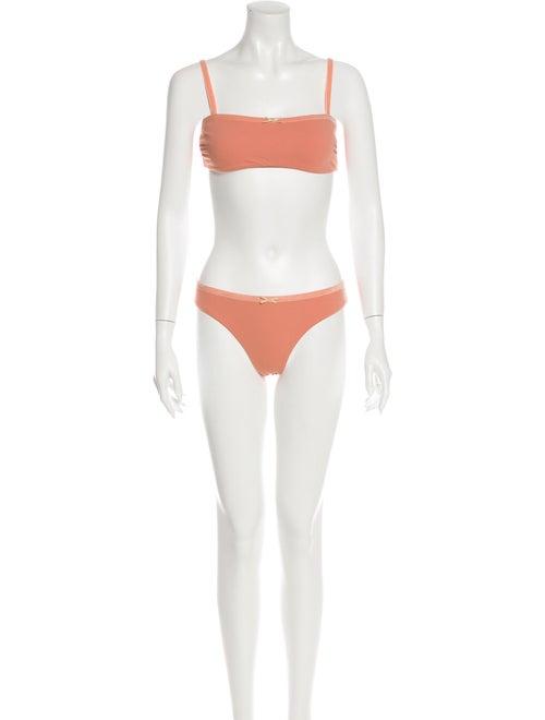 Solid & Striped Bikini Pink