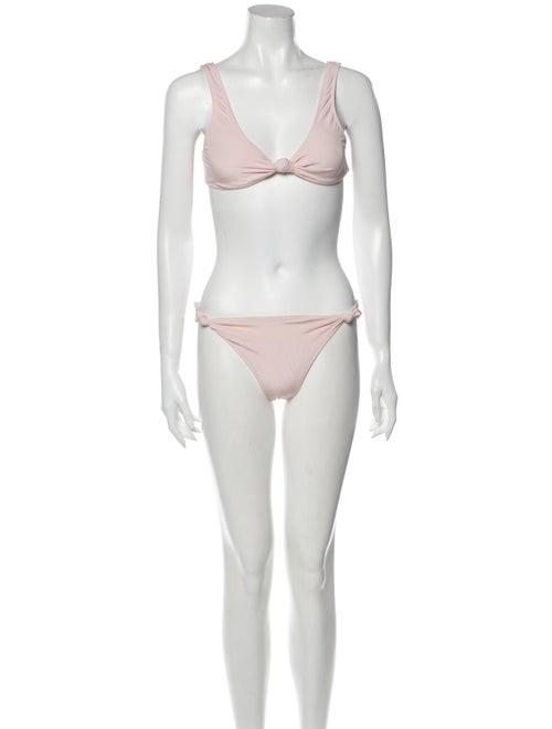 Solid & Striped Bikini w/ Tags Pink