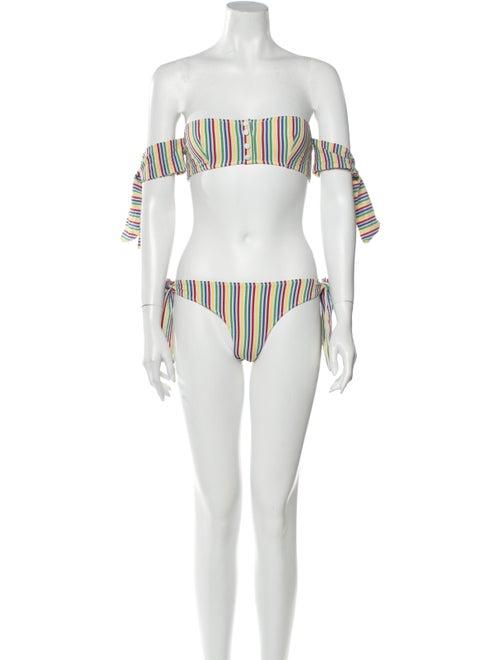 Solid & Striped Mackenzie Striped Bikini w/ Tags W