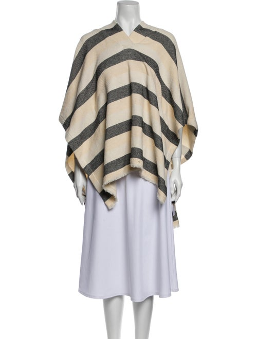 Solid & Striped Striped Poncho