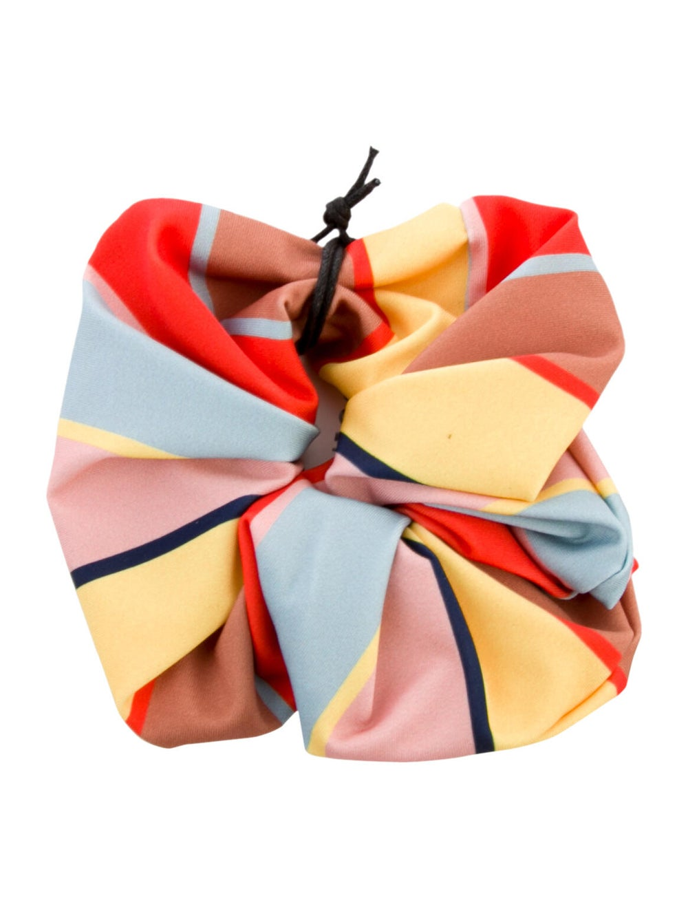 Solid & Striped Striped Hair Scrunchie w/ Tags Ye… - image 1