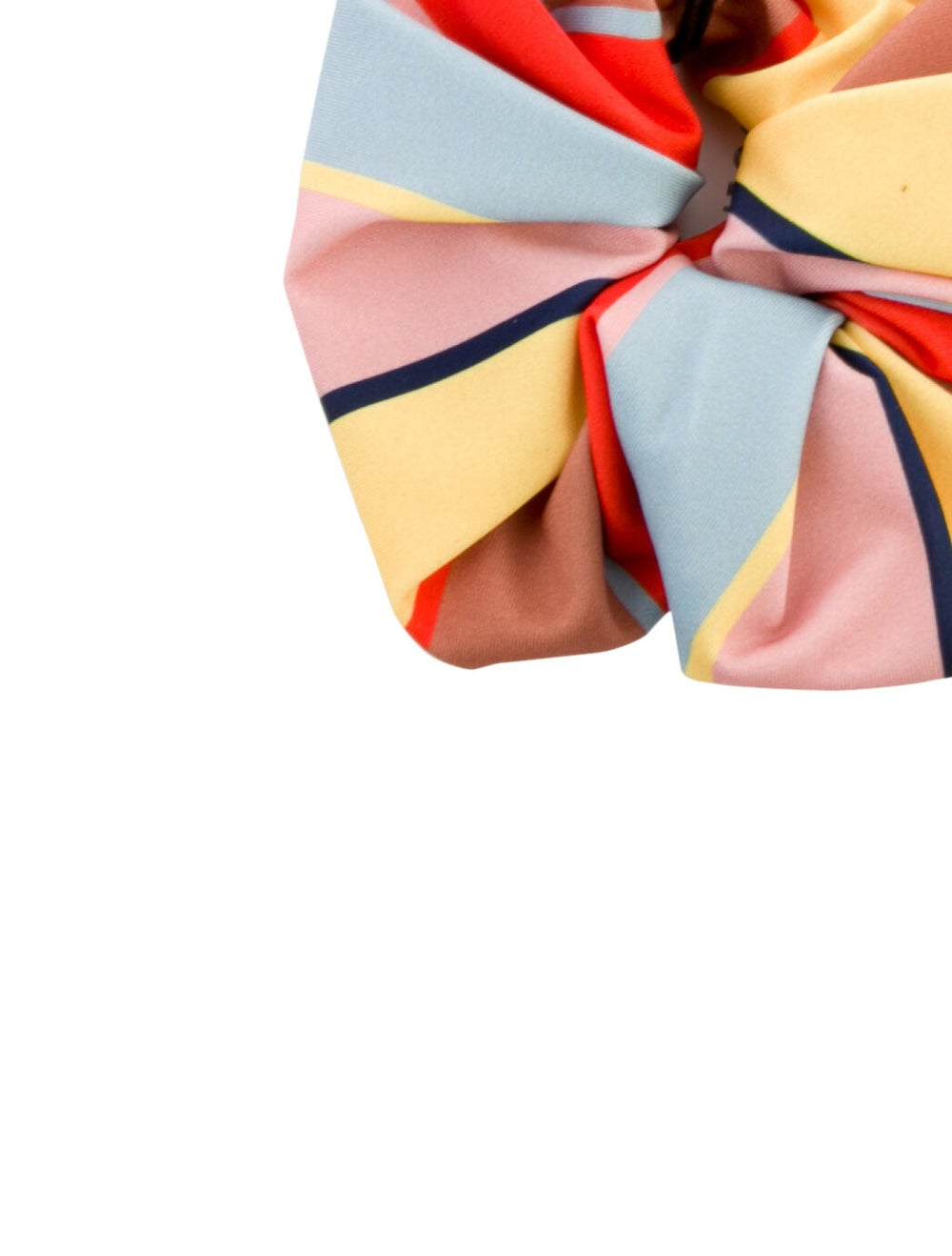 Solid & Striped Striped Hair Scrunchie w/ Tags Ye… - image 2