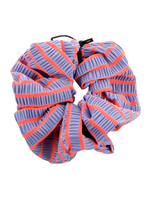 Solid & Striped Striped Hair Scrunchie w/ Tags Pur