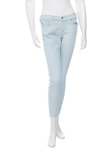 Cropped Skinny Jeans w/ Tags