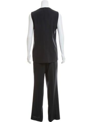 Wool Pant Suit