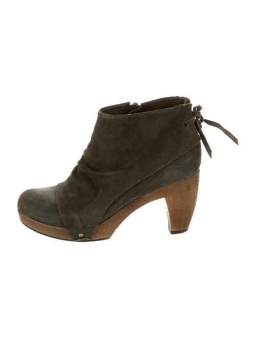 Coclico Suede Boots Green