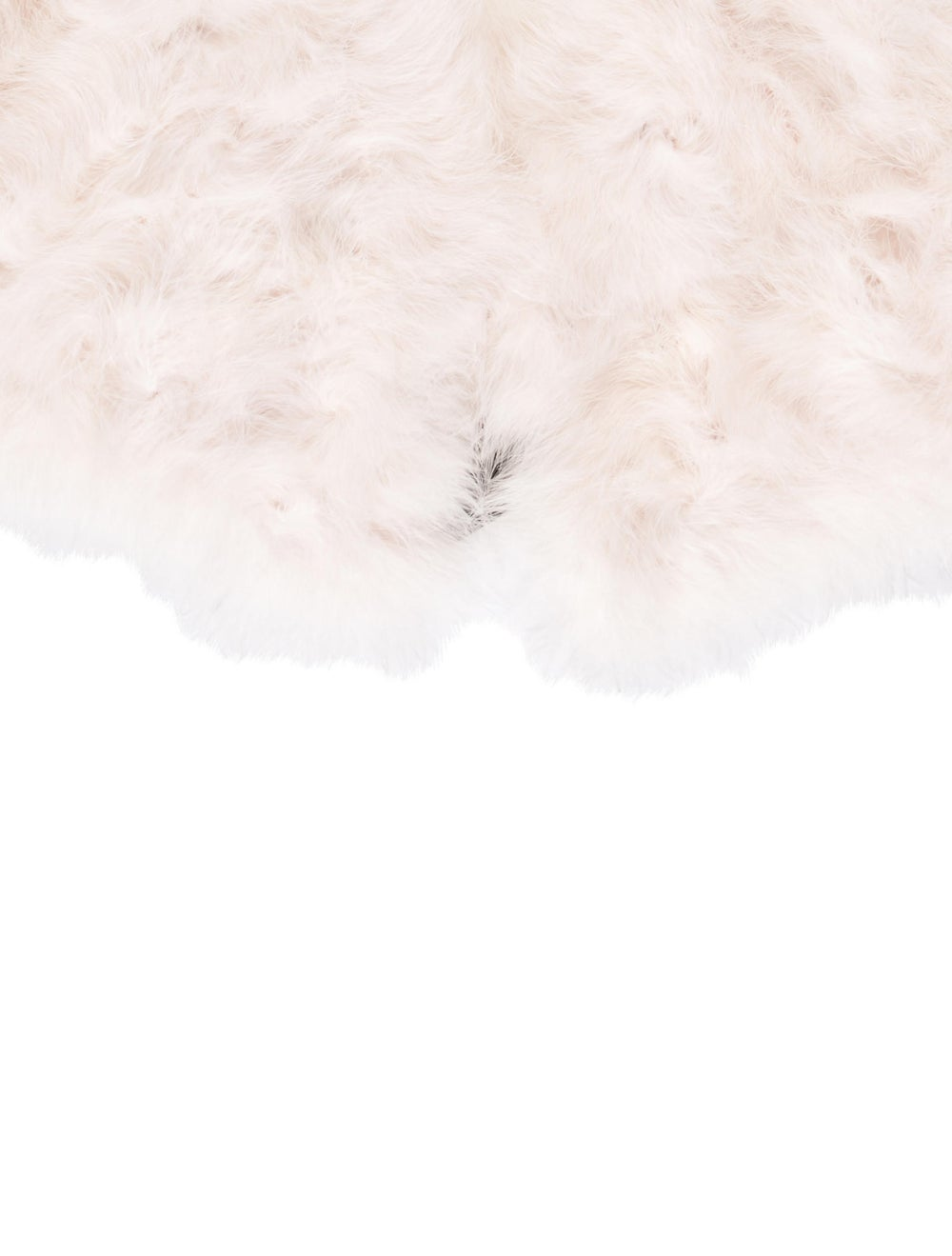Annabelle Marabou Feather Capelet Pink - image 2