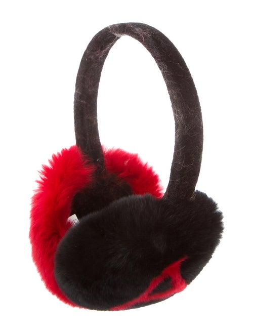 Annabelle Velvet Earmuffs Black