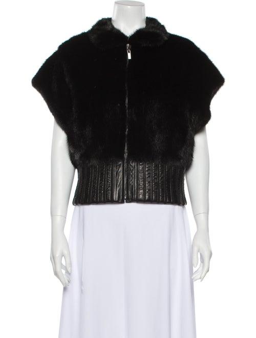 Annabelle Faux Fur Jacket Black