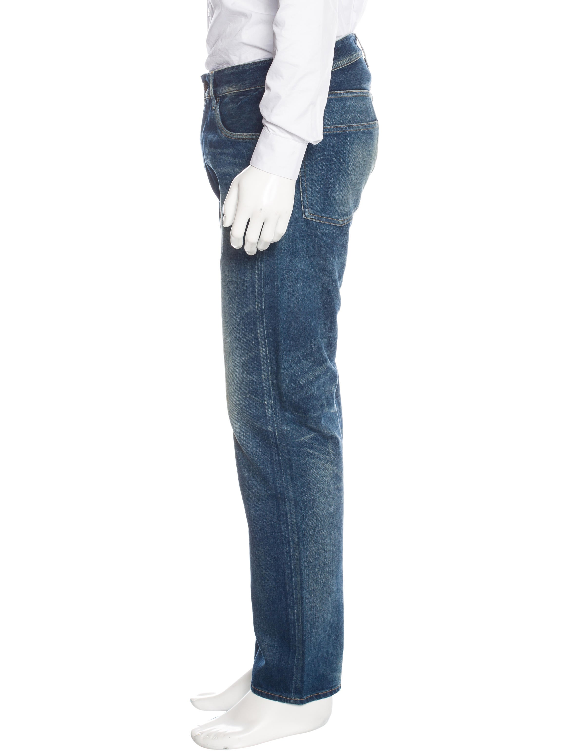 Levi 39 s made crafted ruler straight leg jeans w tags for Levi s made and crafted