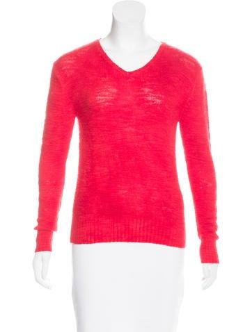 Raif Cashmere V-Neck Sweater None