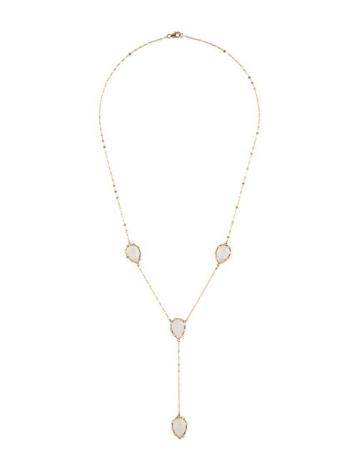 Lana Jewelry 14K Dream Rainbow Moonstone Lavalier