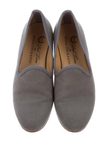Del Toro Woven Round-Toe Loafers wholesale price RGYaYXS