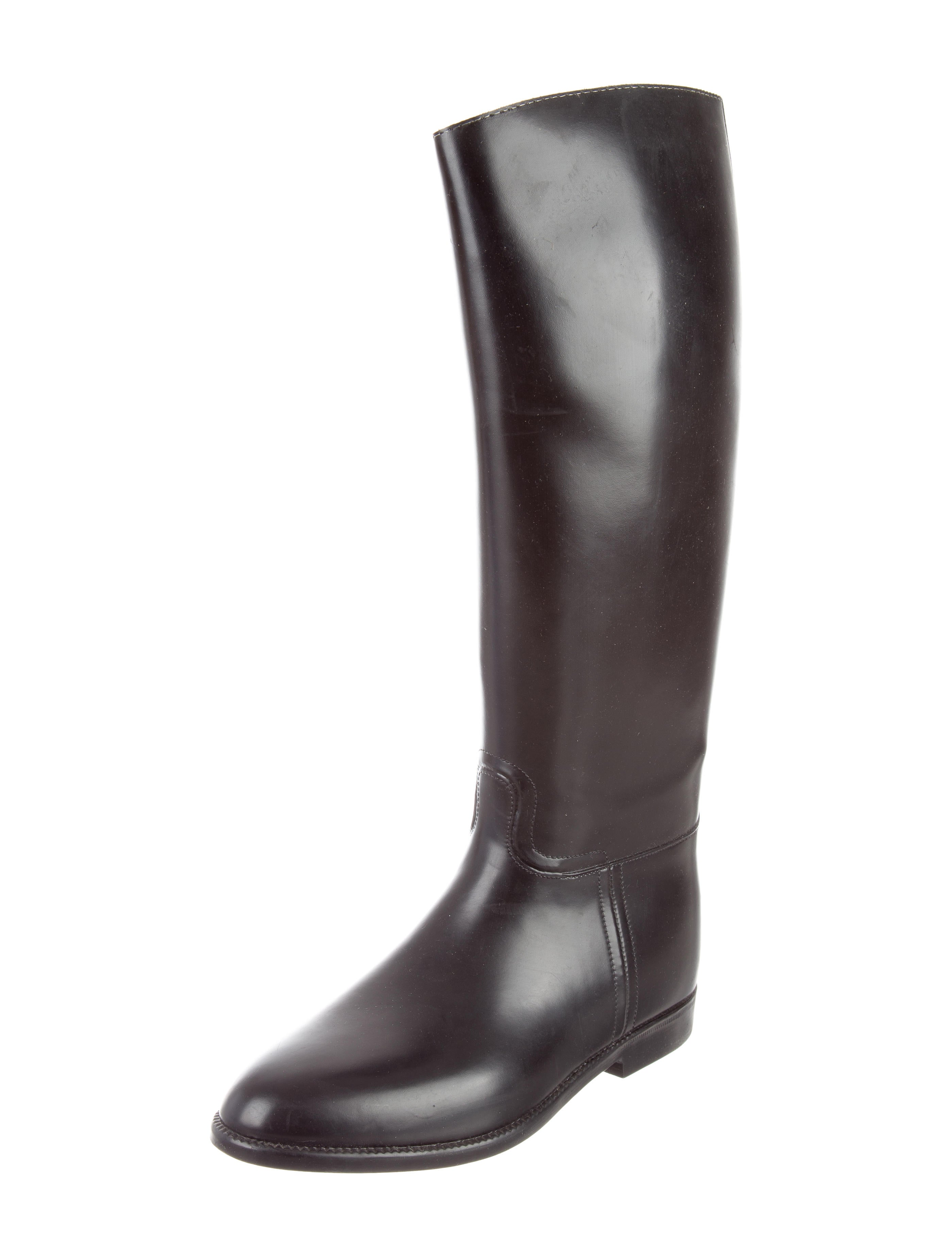 aigle leather boots shoes w8g20015 the realreal