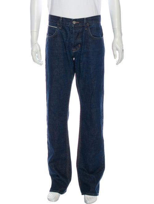 Hudson Straight-Leg Jeans Blue