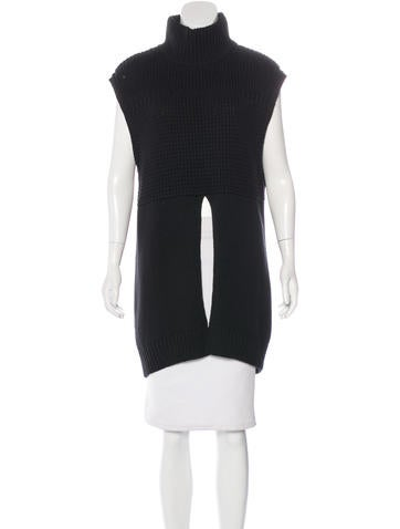 Line Sleeveless Knit Top w/ Tags None