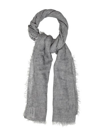 Line Sophie Raw Edge Scarf None