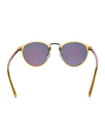 Clubmaster Reflective Sunglasses