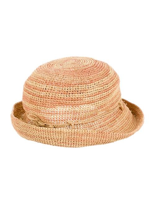 Helen Kaminski Raffia Fedora Hat Tan