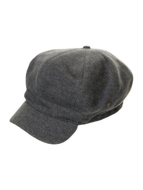 Helen Kaminski Wool-Blend Newsboy Hat Grey