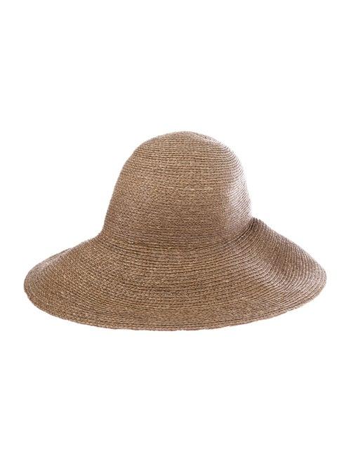 Helen Kaminski Raffia Wide Woven Hat Tan