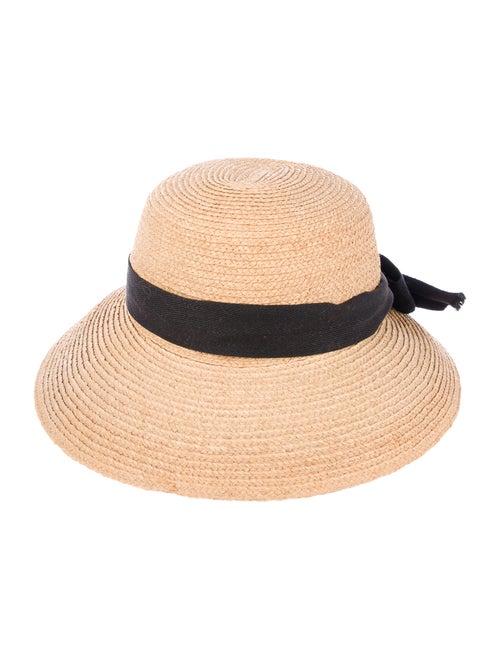 Helen Kaminski Raffia Woven Hat Tan