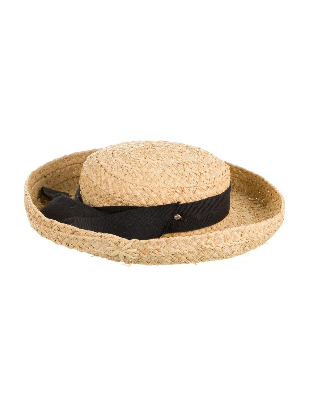 Helen Kaminski Straw Wide Brimmed Hat Tan - image 1