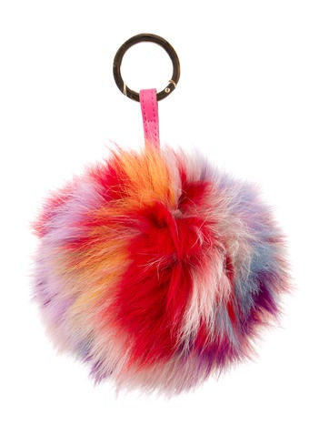 Fur Pom Bag Charm